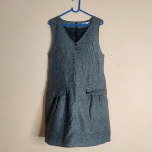 Winter Grey SchoolGirl Dress